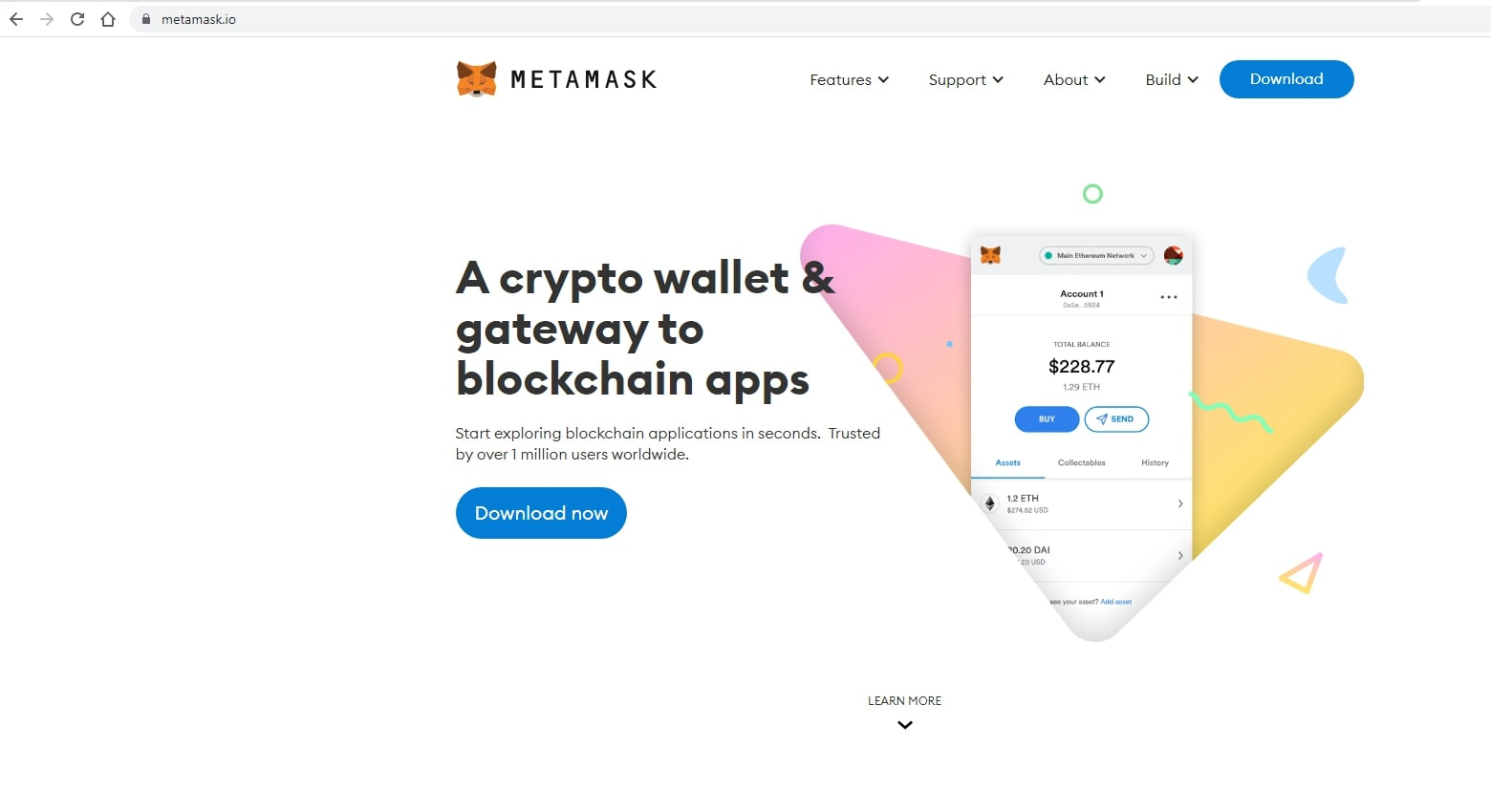 download and install metamask
